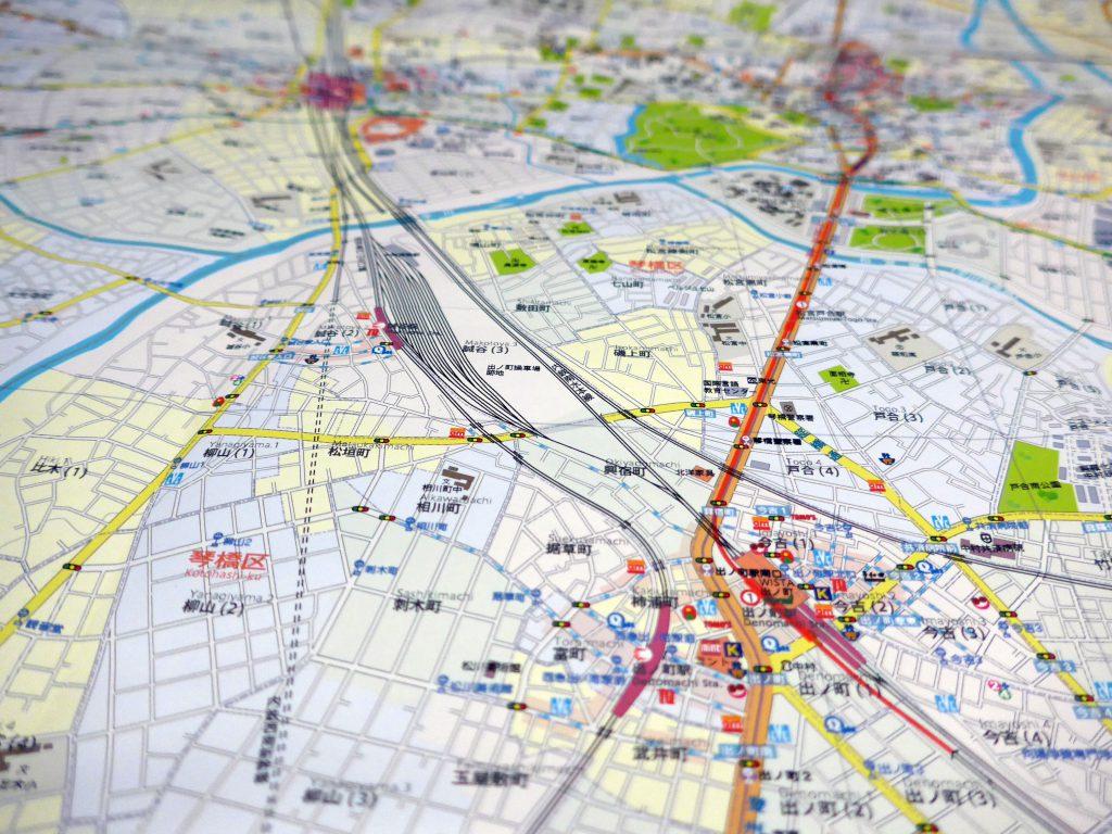 空想地図は、理想の街ではない